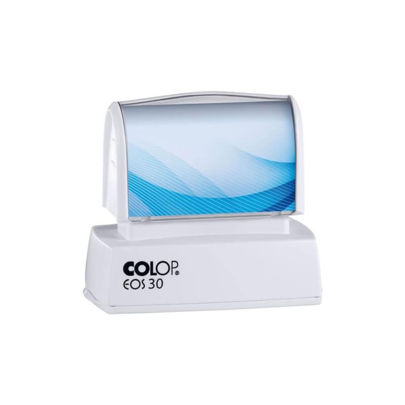 Pieczątka COLOP EOS 30 w białej obudowie
