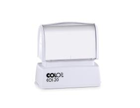 Pieczątka COLOP EOS 20 z białą etykietą