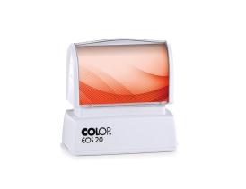 Pieczątka COLOP EOS 20 z czerwoną etykietą